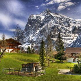 À la montagne, abris de jardin, garages et chalets sont en bois