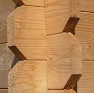 Un abri de jardin bois avec madriers qui s'emboîtent pour un montage simple