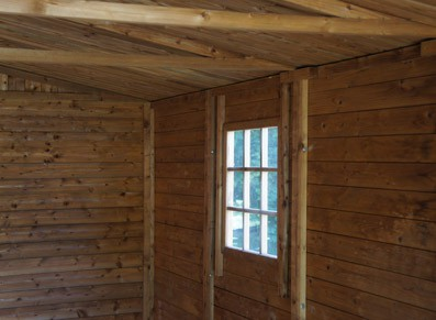 Abri de jardin en bois autoclave pour un cabanon durable
