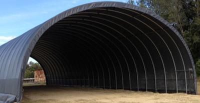 Tunnels de stockage et serres de production : quelle réglementation ?