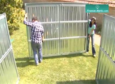 montage-abri-jardin-gamme-france-abris