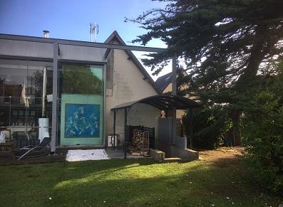 Transformation d'un abri terrasse ou carport en abri auvent/abri porte d'entrée