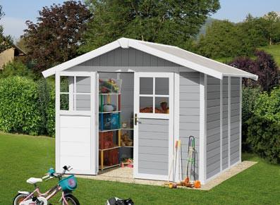 des abris de jardin en pvc faciles monter le choix de france abris. Black Bedroom Furniture Sets. Home Design Ideas