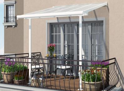 Abri et toit terrasse ou couverture à installer sur son balcon