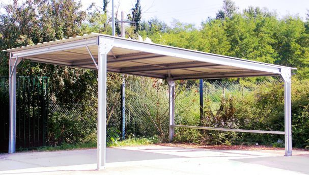 Carport professionnel m tallique modulable et adaptable for Abri de jardin metallique