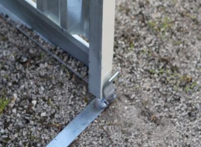 Le montage rapide du garage en acier galvanisé métallique avec les modèles FRANCE ABRIS