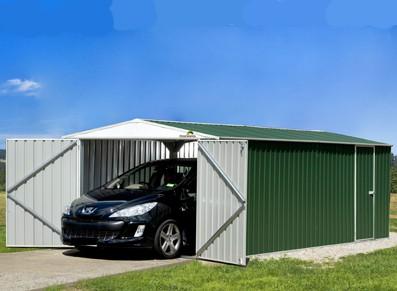 L'acier galvanisé pour vos garages et abris de jardin : défauts et qualités