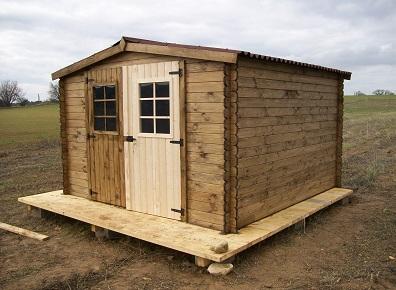 Solutions pour bien utiliser son abri bois ou cabanon de for Porte cabanon jardin