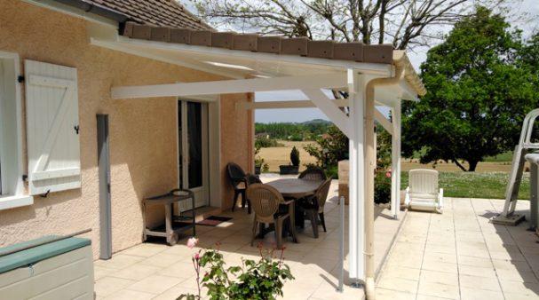 Ossature bois pour créer un toit terrasse