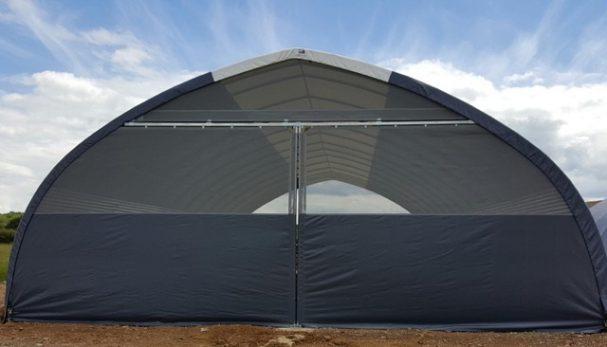 Tunnel de stockage avec options pour ULM et avions loisir
