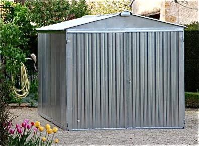 abri garage métal au montage 30 minutes 1