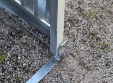 Garage métallique en kit montage facile