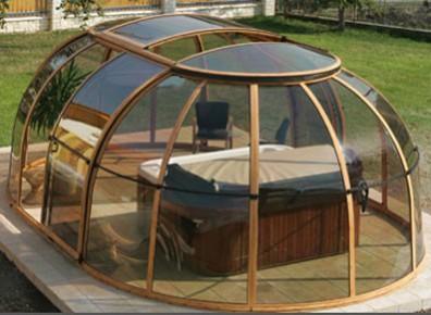 Quel abri en kit choisir pour sa terrasse son spa ou sa for Abris de piscine occasion