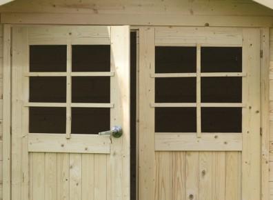 abri de jardin bois kit montage 2