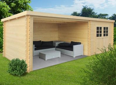 le salon de la piscine et des id es d 39 abris en kit. Black Bedroom Furniture Sets. Home Design Ideas