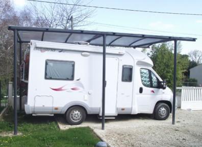 abri voiture kit Pays de Loire acier plastifié 2