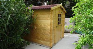 abri bois en kit pour le jardin
