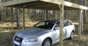 carport bois autoclave