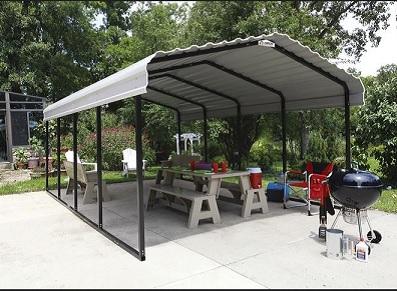 Shelter Logic, des carports montage simple et facile sur FRANCE ABRIS !