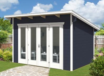 l'abri bois esthétique et design