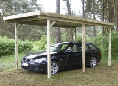 carport bois en kit autoclave