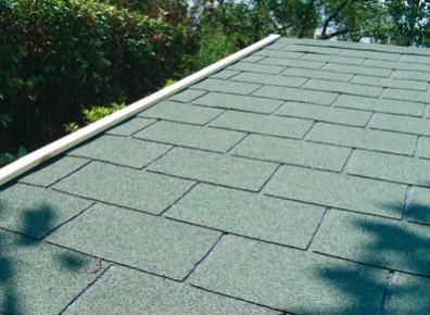toit en shingle pour abri