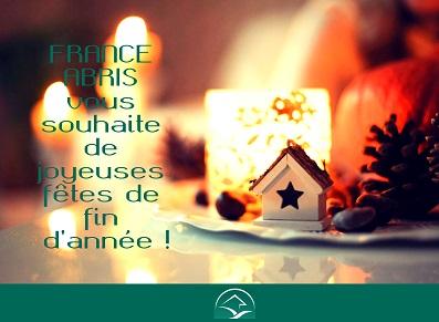 FRANCE ABRIS vous souhaite de joyeuses fêtes !