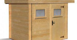 cabane en bois en kit
