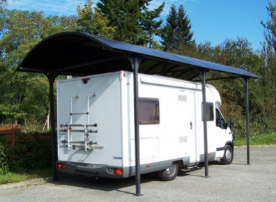 carport caravane en kit montage inclus