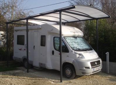 carport pour camping-car sur mesure