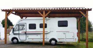 carport camping-car kit sur mesure
