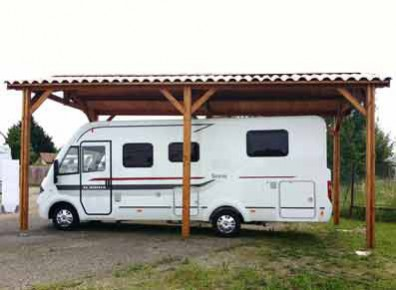 carport camping-car kit sur mesure