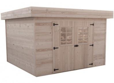 abri de jardin kit avec toit bacacier