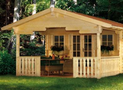Créer une chambre d'appoint avec un chalet de jardin