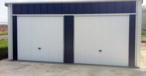 abri garage métallique pour 2 voitures