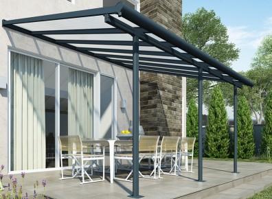 Des pergolas et abris terrasse aux dimensions et dispositions modulables