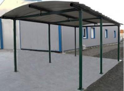carport métallique en kit personnalisable