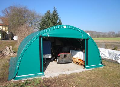 Tente de stockage en PVC : une solution économique pour les agriculteurs
