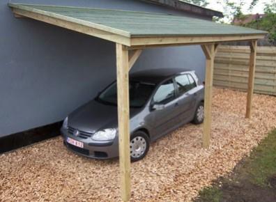 carport adossé