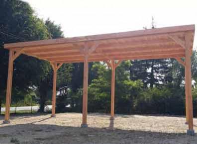 Comment appliquer de la lasure sur son carport en bois ?