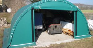 Une tente de stockage dédiée à un usage agricole, je fonce !