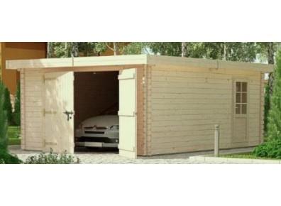 abri garage avec remise et atelier