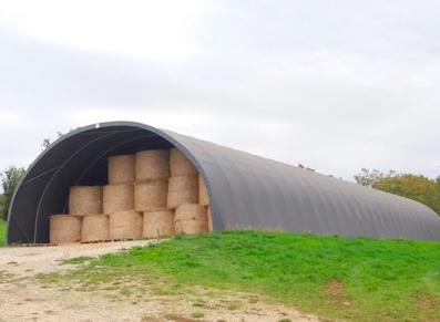 Tente de stockage en PVC : une solution de stockage pratique et économique pour les professionnels de l'agriculture