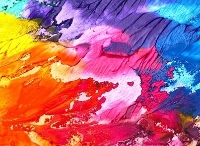 De la couleur au jardin avec un abri peint !
