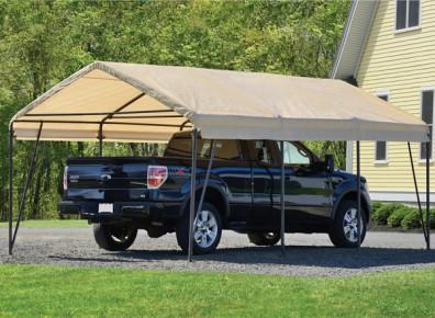 Focus produit : un carport métal et en toile pour votre voiture !