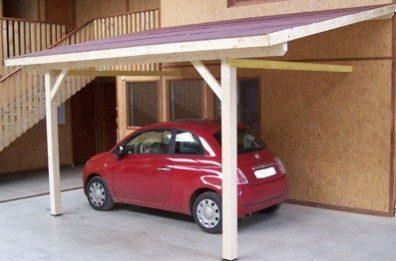 carport en kit en bois