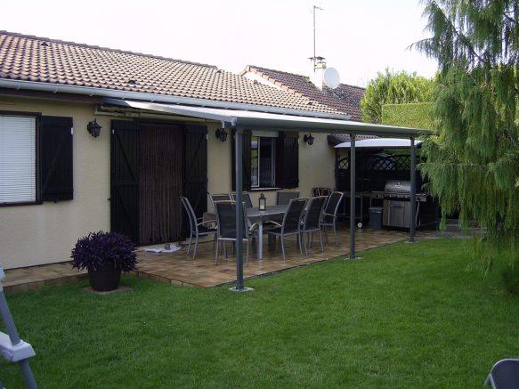 toit terrasse métallique pas cher