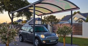 carport en alu double