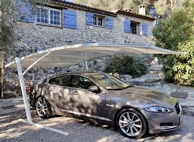 abri voiture toile métallique