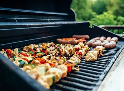 toit terrasse et barbecue